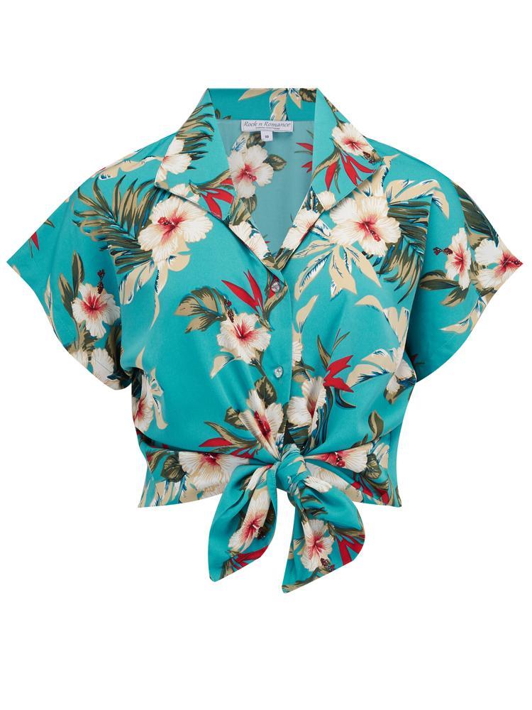 comprar baratas 37a3d 8e081 Blusa María Print Hawaiano